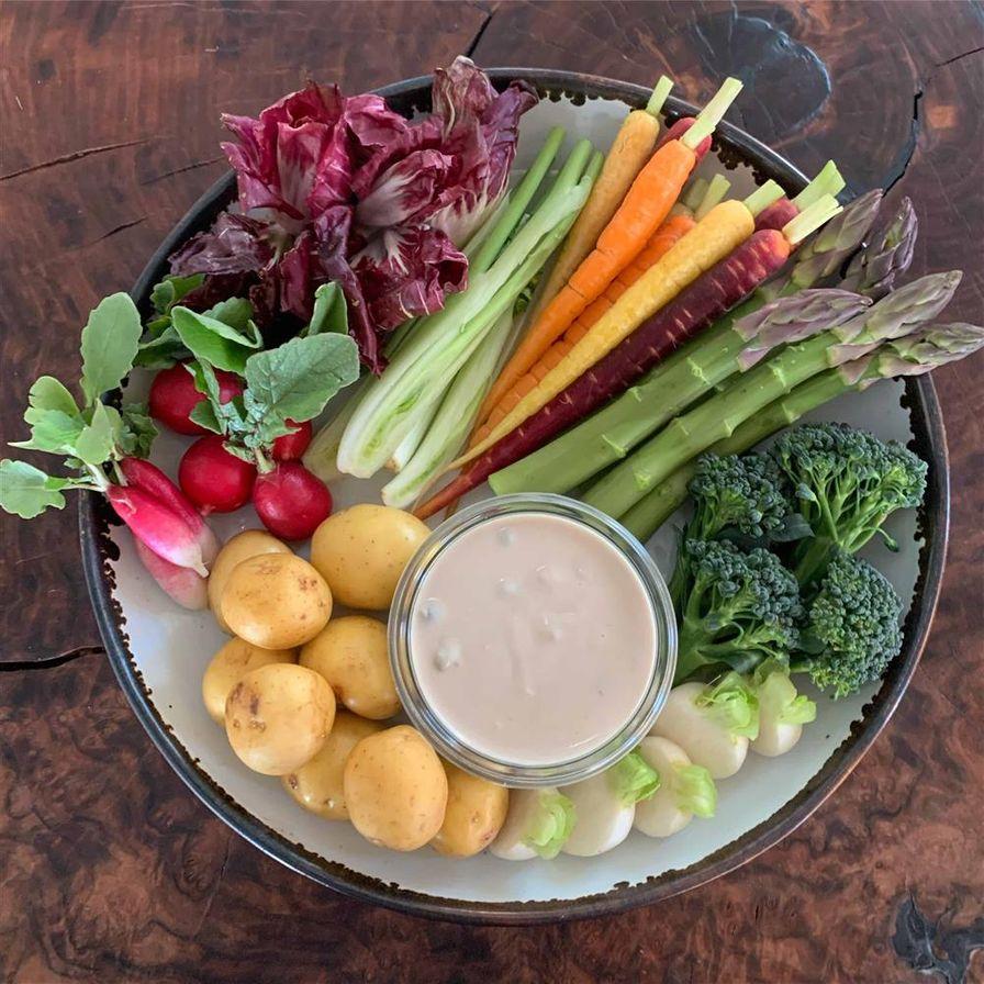Market Vegetable Crudités