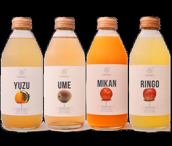 Ume, Kimino Sparkling Juice Bottle