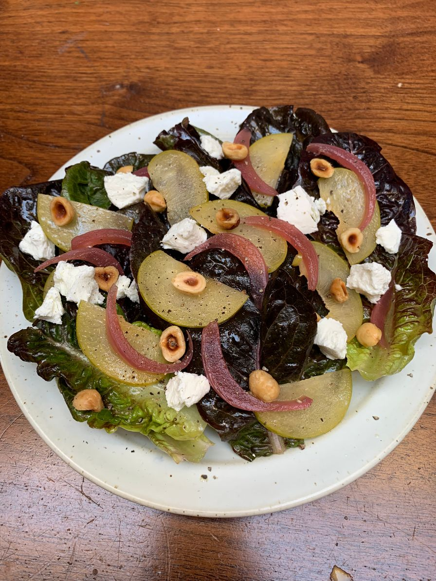 Plum Salad