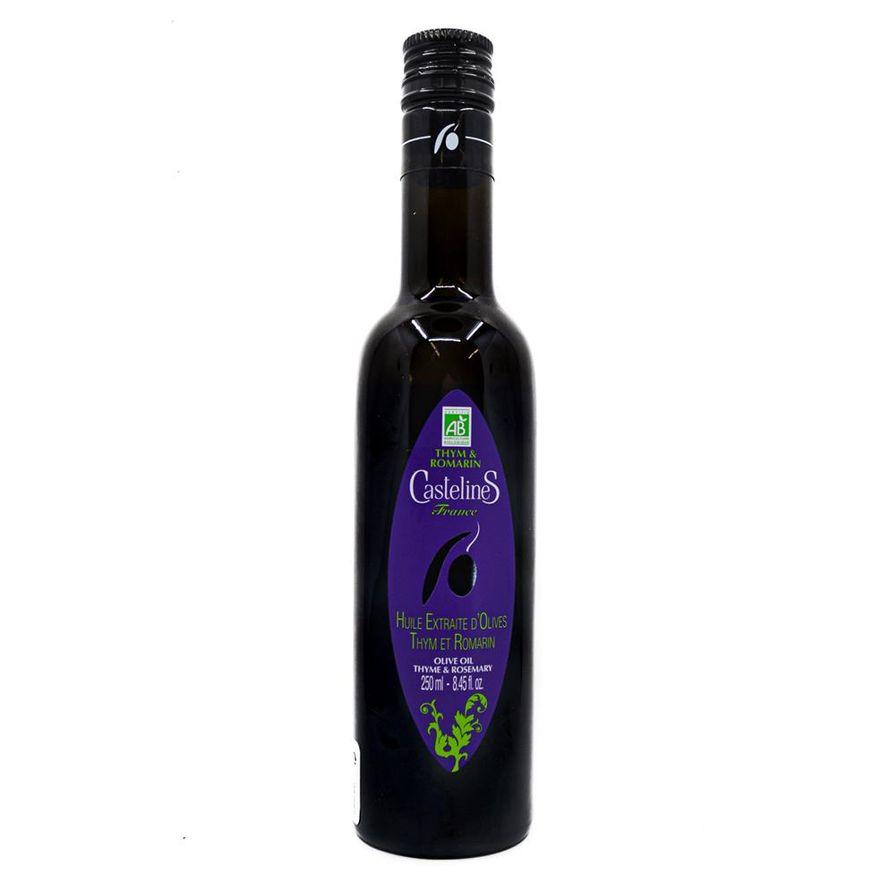 CastelineS Rosemary Thyme Olive Oil (250ml)