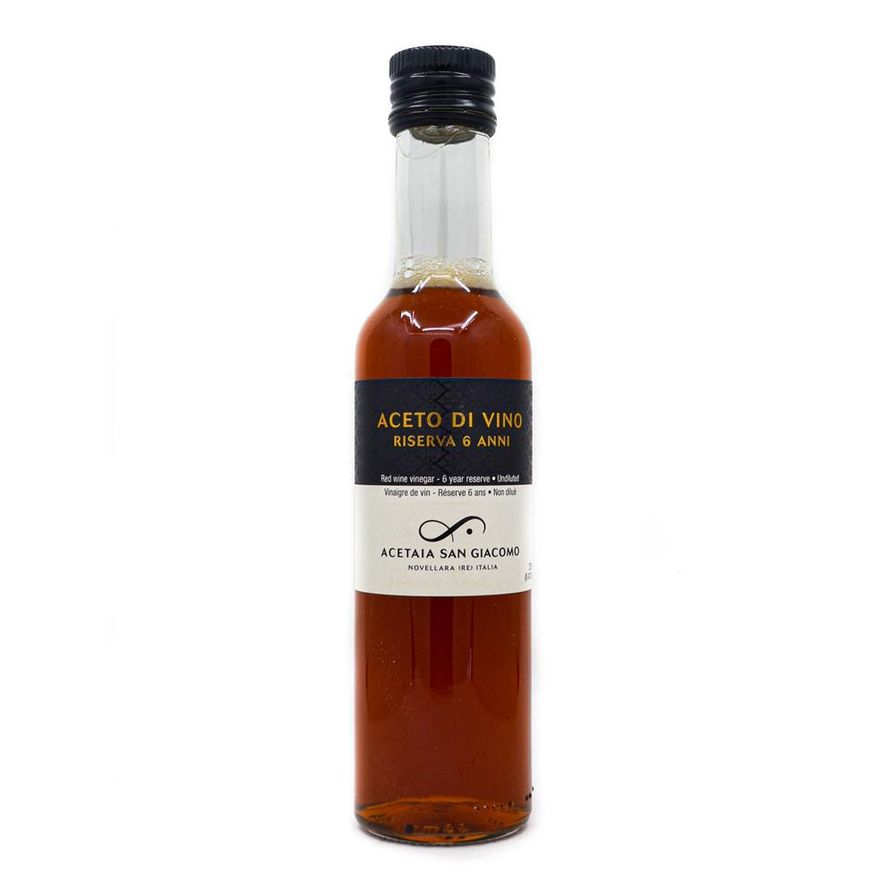 San Giacomo 6-Year Riserva Red Wine Vinegar