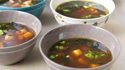 Triple Ginger Miso Soup