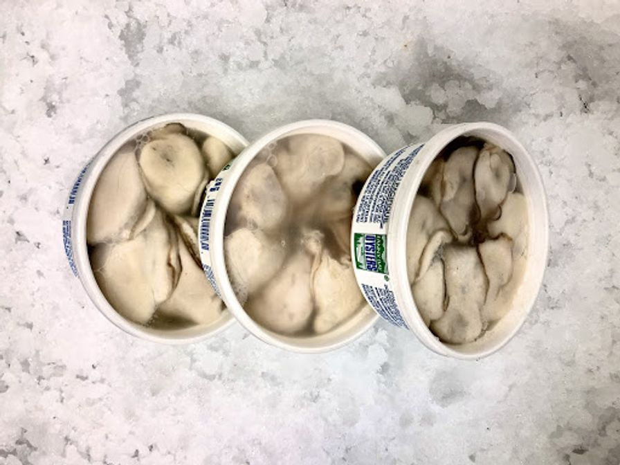 Shucked Oysters Meat 8oz