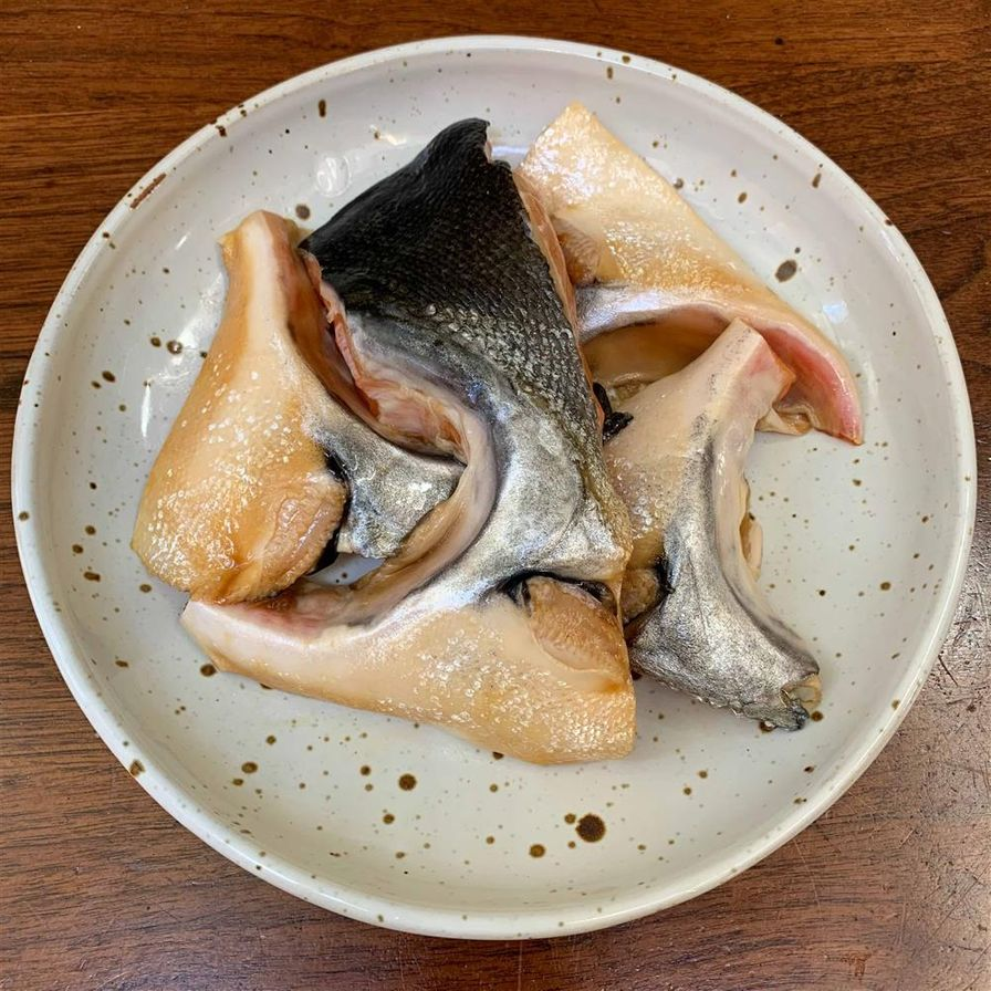 Marinated Fish Collars