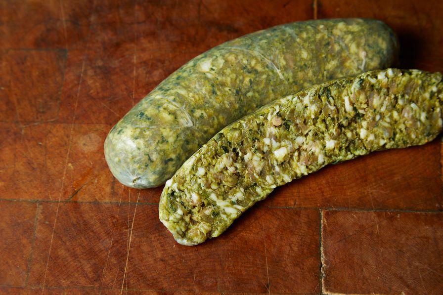 Chorizo Verde Links