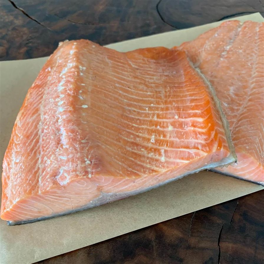 Maple Smoked Trout Fillets ( .5# average)
