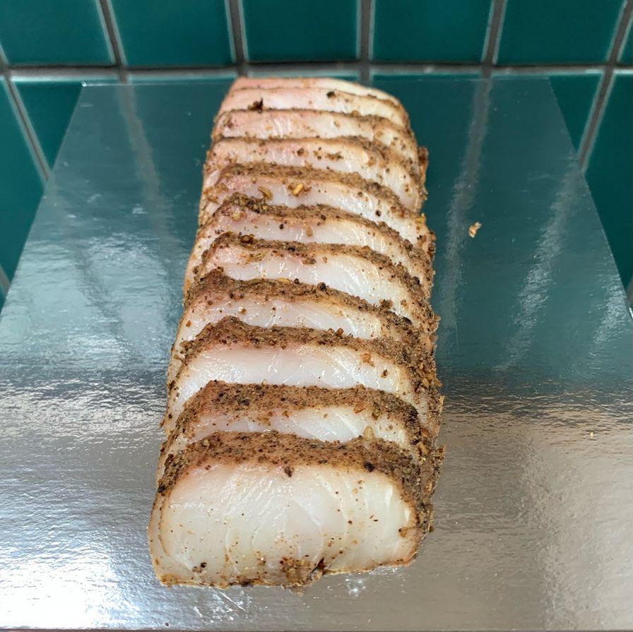 Kanpachi Pastrami (4oz.)