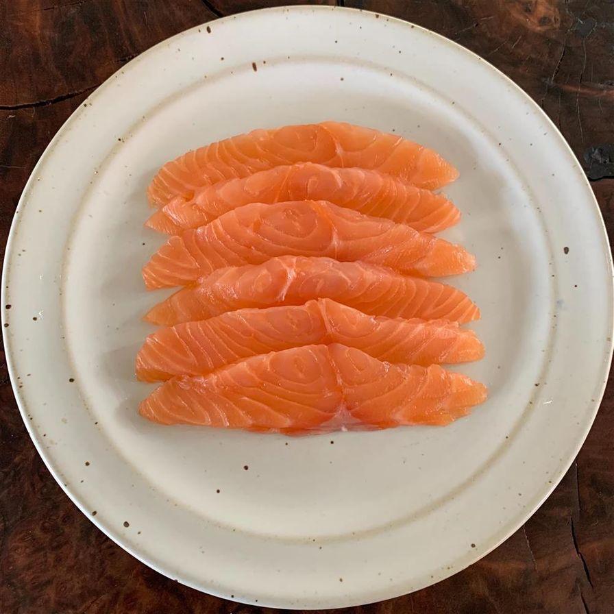 Dill Cured Wild King Salmon Gravlax (4oz.)