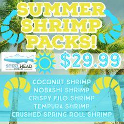 Summer Shrimp Packs!