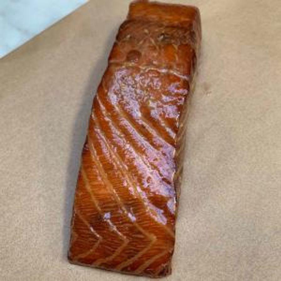 "Smoked Salmon ""Ham"""