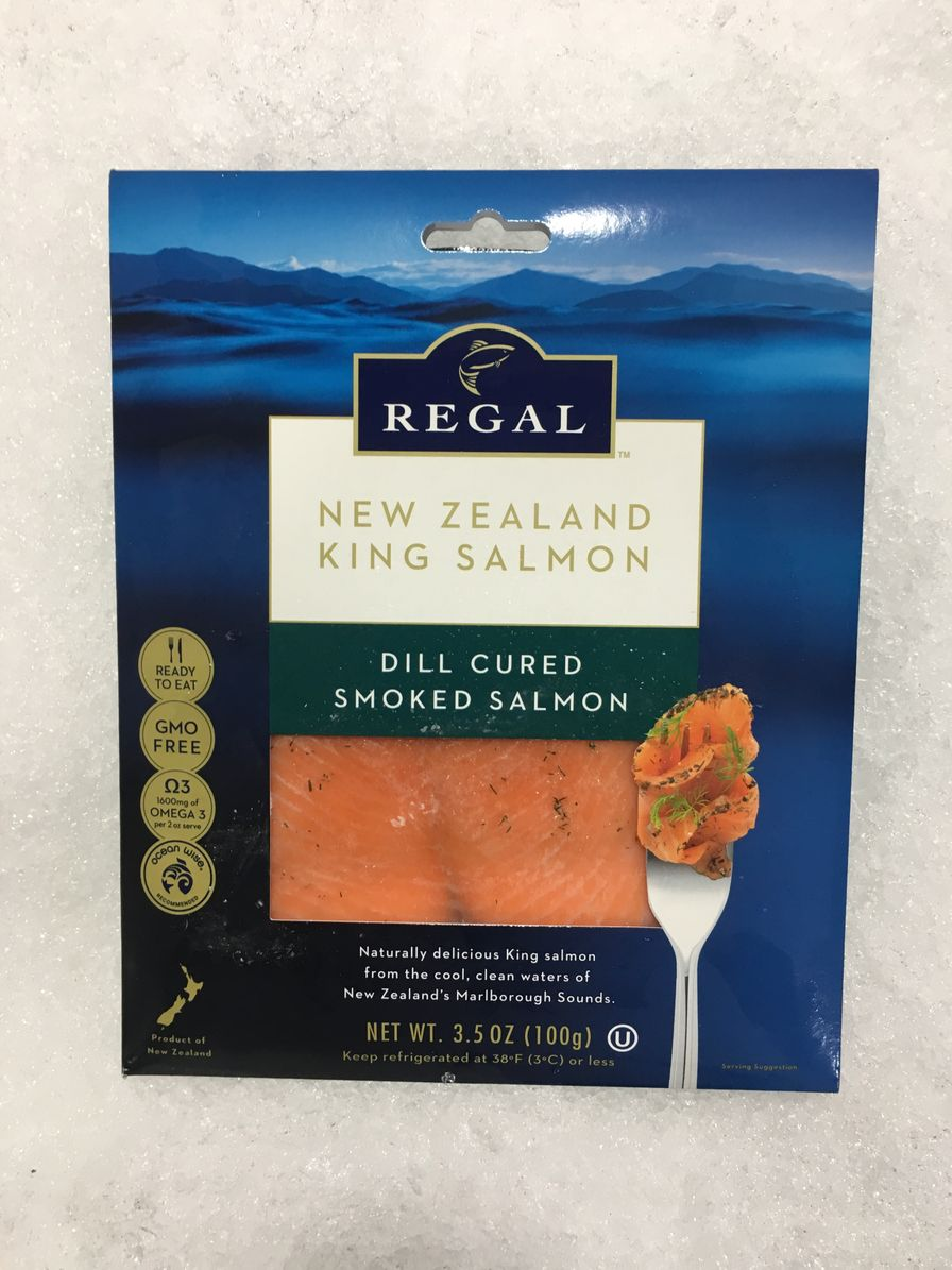 Regal Cold Smoked Salmon - Dill Cured