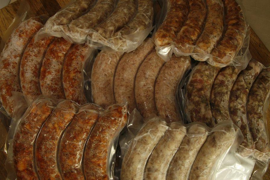 Standard Sausage Sampler