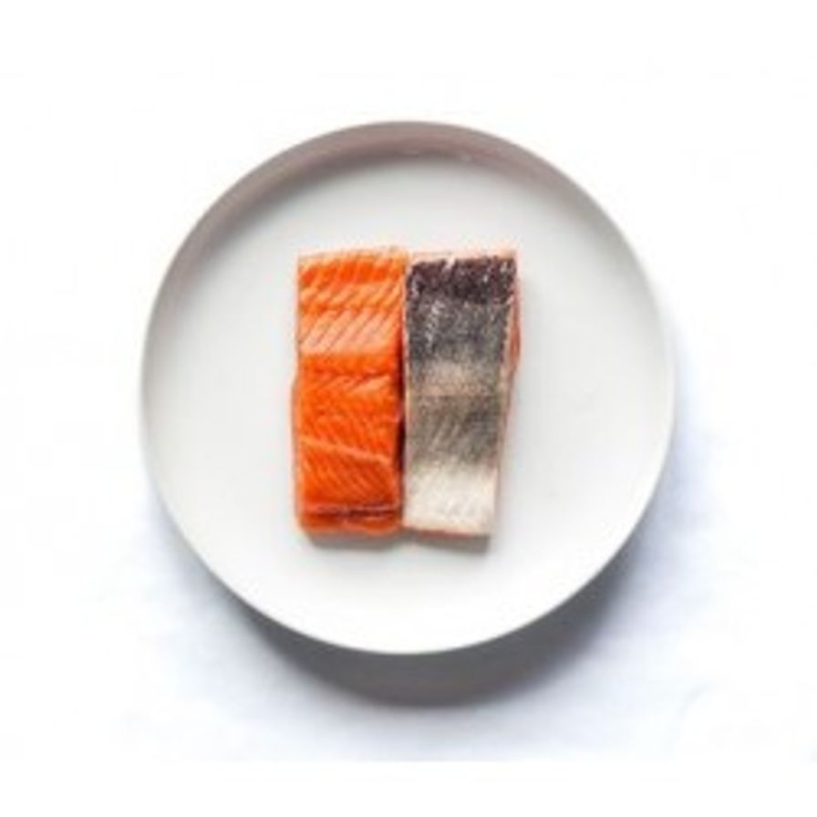 Salmon - B.C. Organic King Salmon Fresh Portions (2 x 6 oz)
