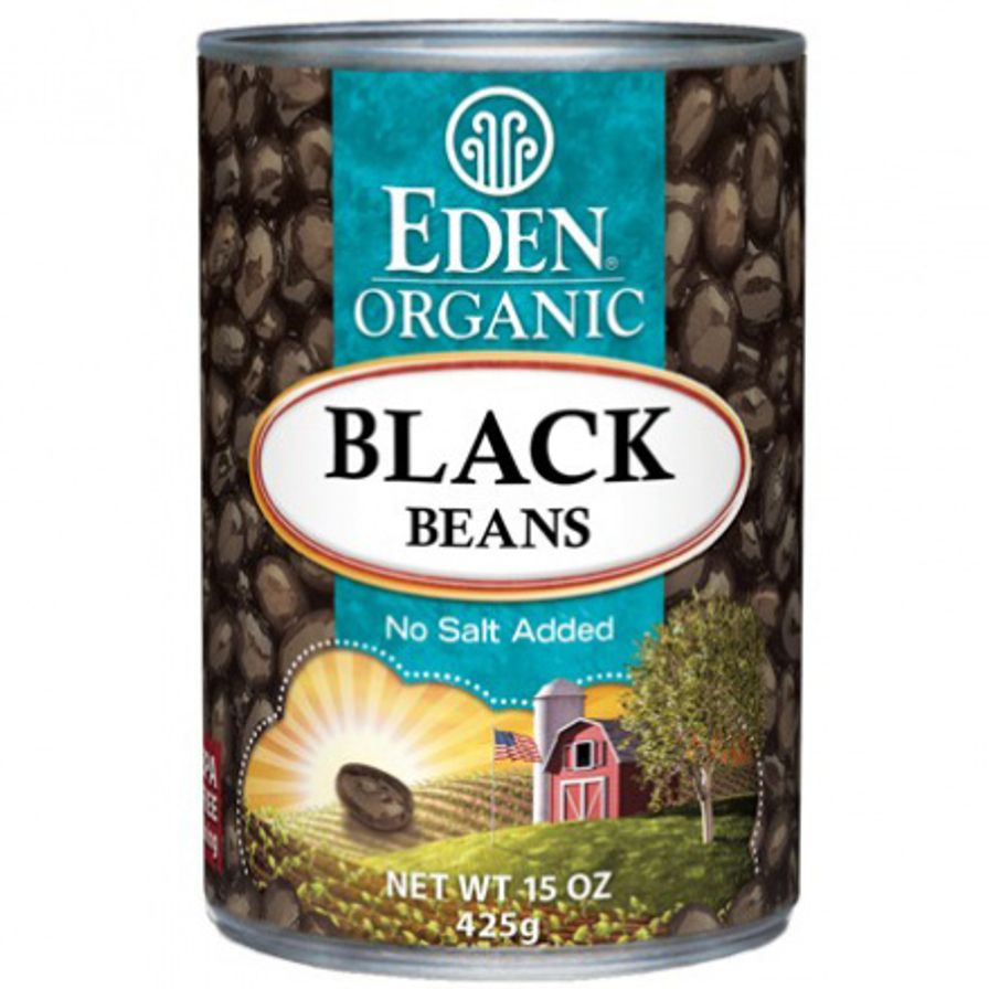 Eden Organic Black Beans 398 ml