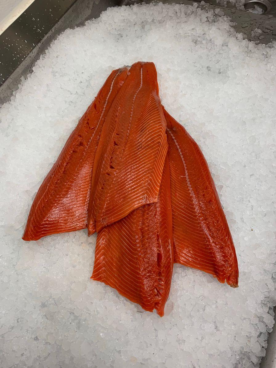 Wild Sockeye Salmon Fillet