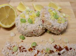 BC Dungeness Crab Cake