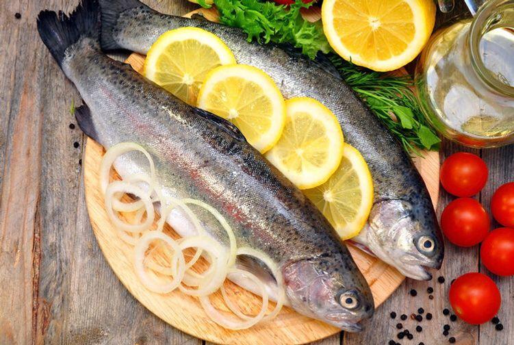 Fresh Rainbow Trout (Whole Fish 8-10oz)