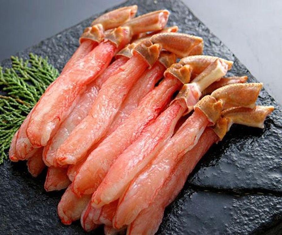 Crab Meat -  Canadian Snow Sashimi Grade Leg Meat (227 gm)