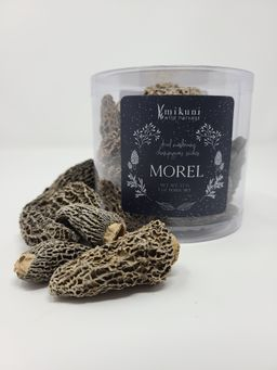 Dried Wild Morel Mushroom