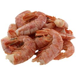 Wild Argentine pink shrimp - Shell on