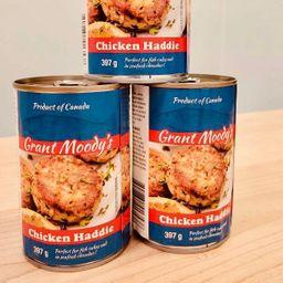 Canned Chicken Haddie
