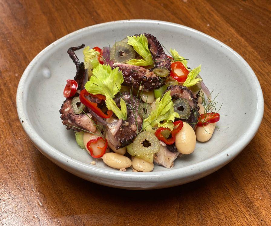 Octopus and Butter Bean Salad