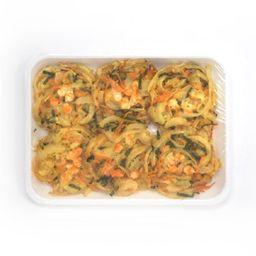Ebi Kakiage (Mixed Shrimp & Vegetable Tempura)