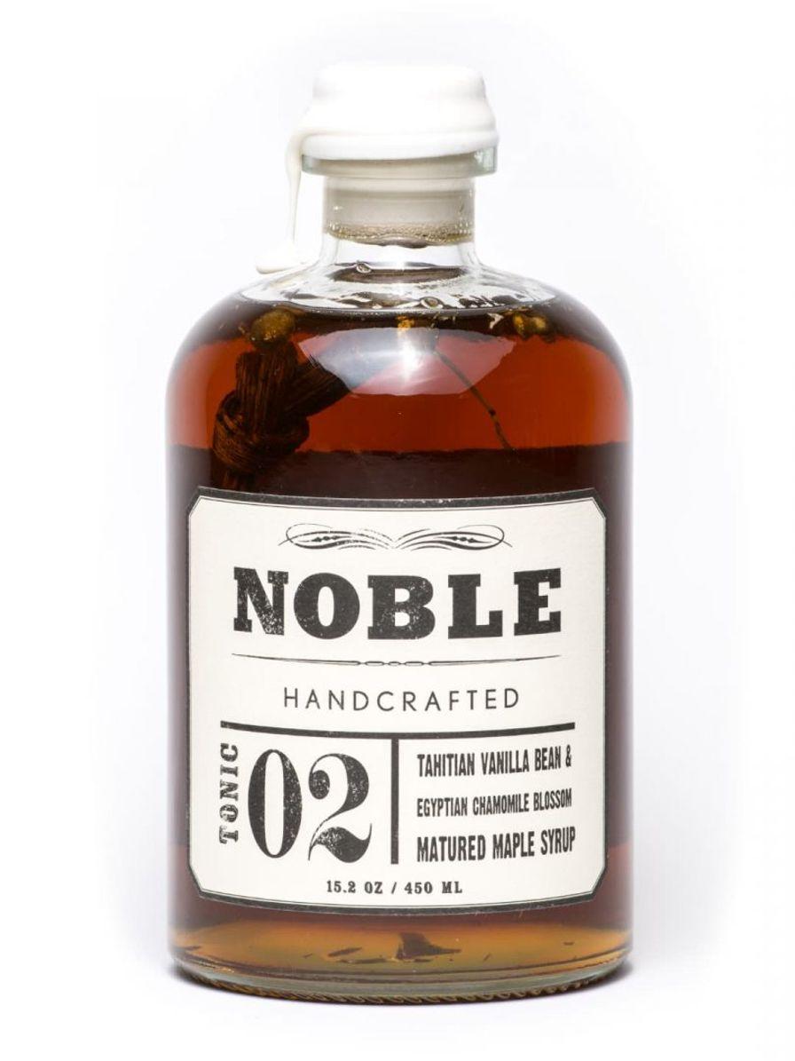 Noble 02, Tahitian Vanilla Egyptian Chamomile Maple Syrup