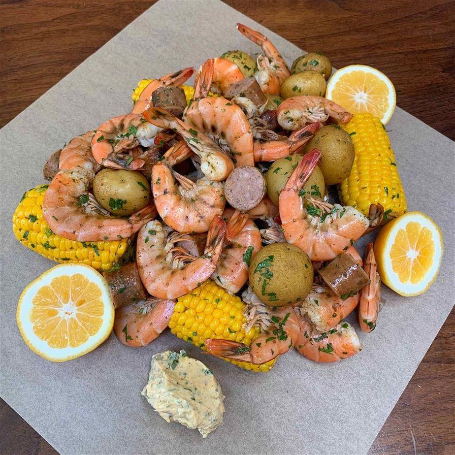 Shrimp Boil Dinner (serves 4)