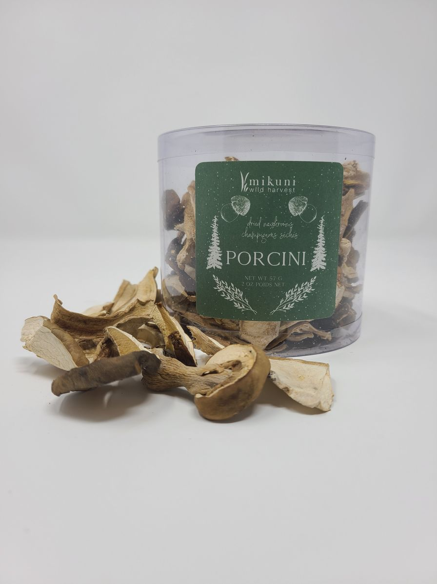 Dried Wild Porcini Mushroom