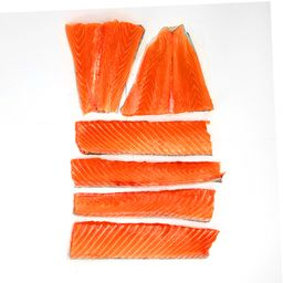 Ora New Zealand King Salmon Tail and Center Portion