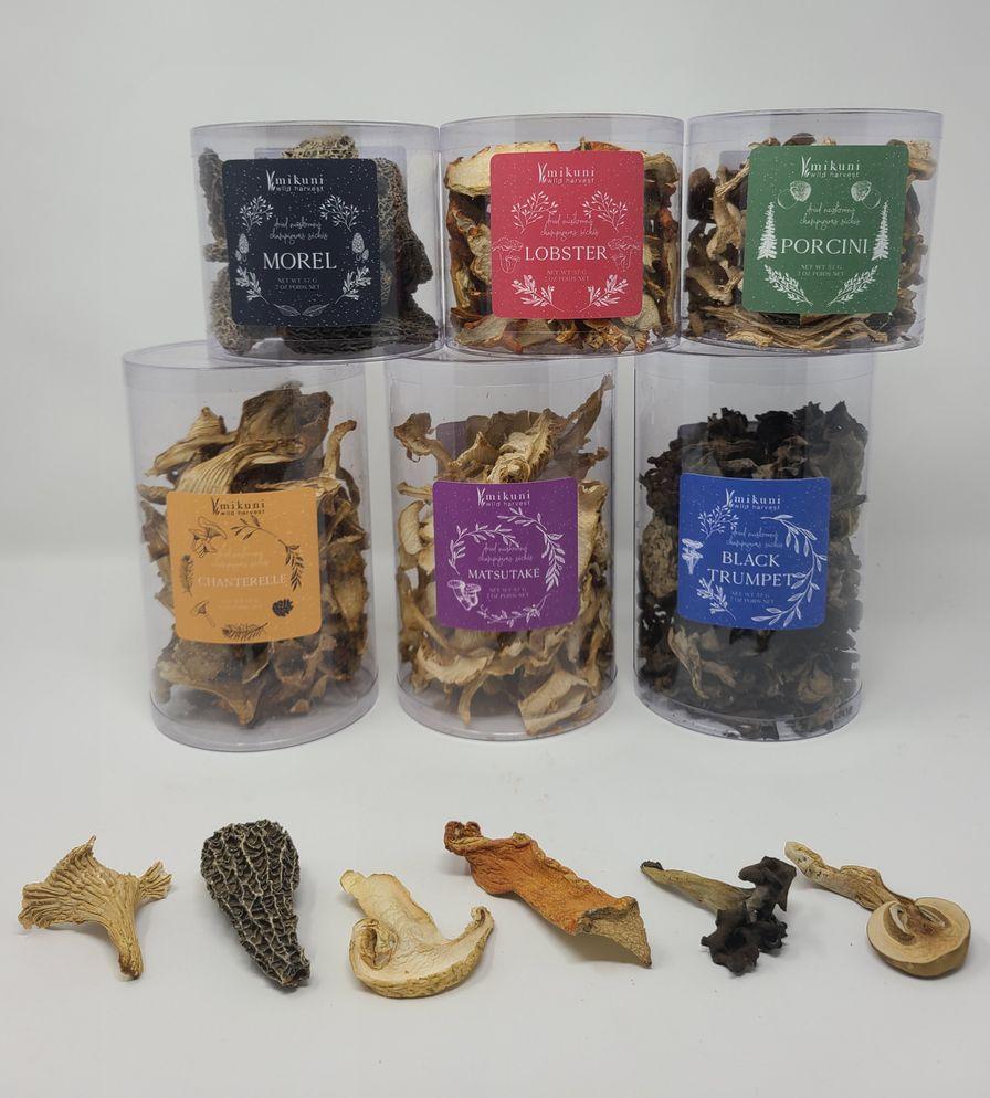 Dried Mushroom, Care Package