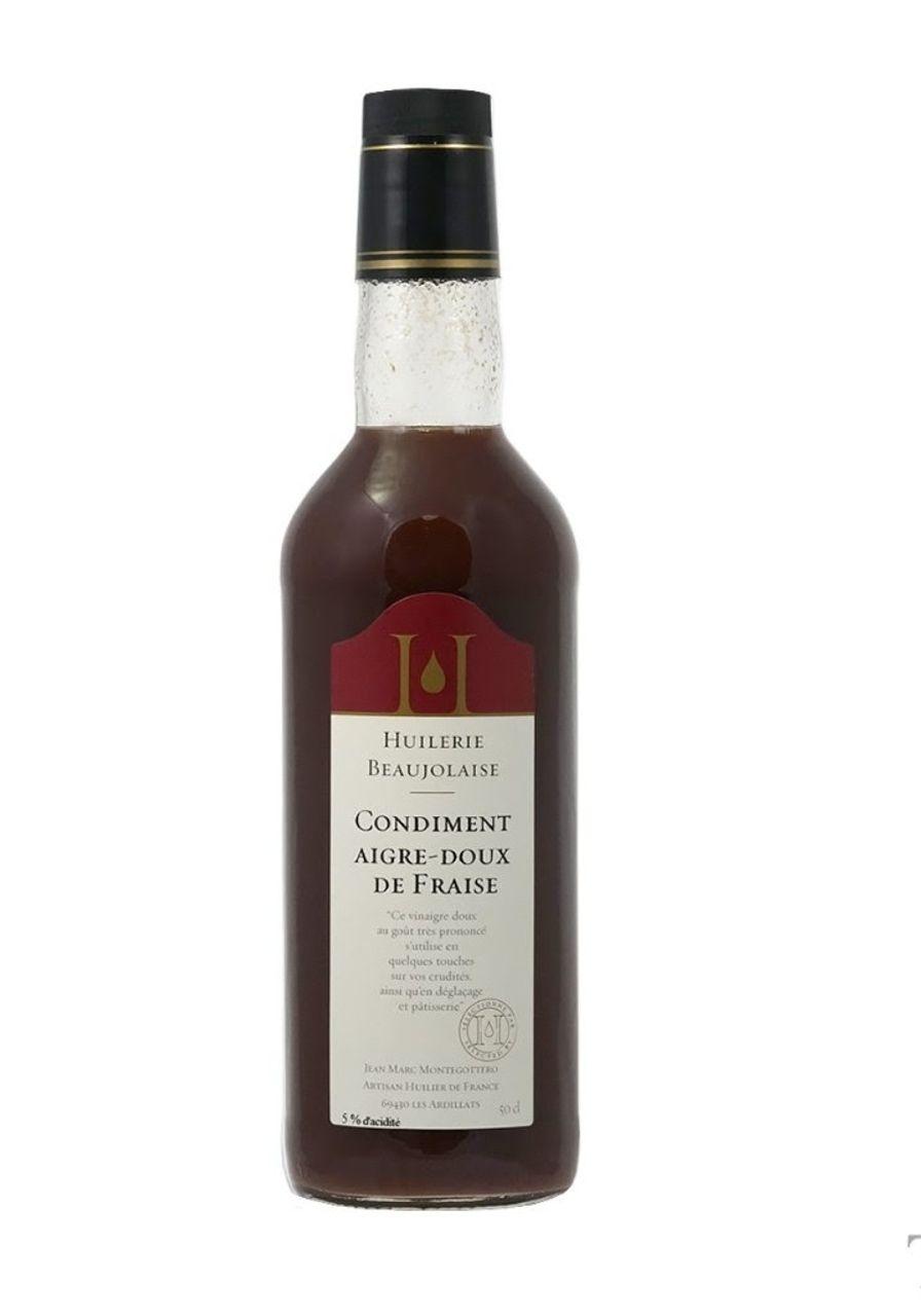 Sweet & Sour Strawberry Vinegar (Jean Marc Montegottero)