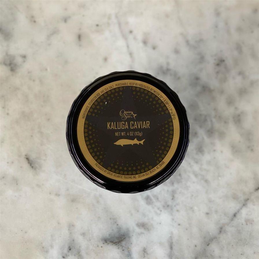 Golden Kaluga Hybrid Caviar (4oz.)