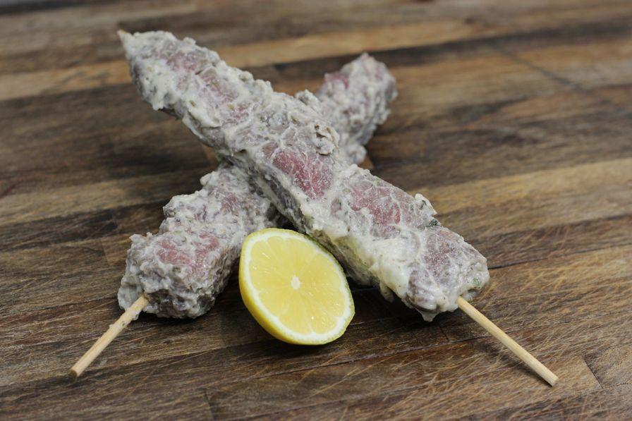 Lamb Kabobs Greek