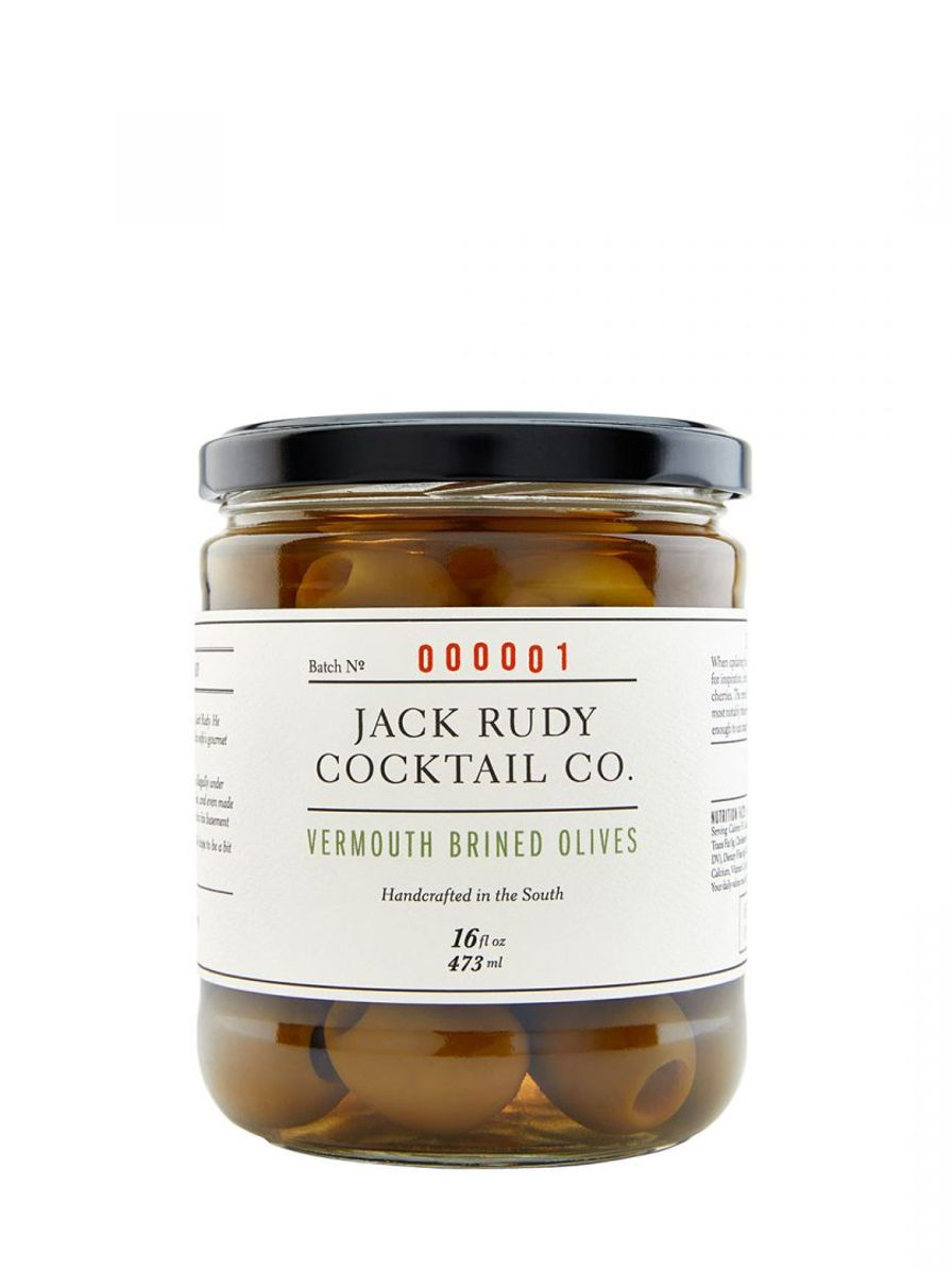 Vermouth Brined Olives, Jack Rudy