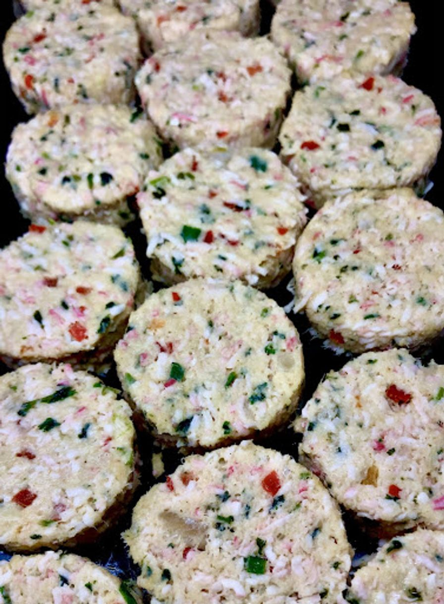 Rock Crab Cakes