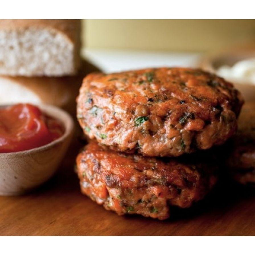 Salmon - Atlantic Canadian Housemade Burgers (2x8 oz)