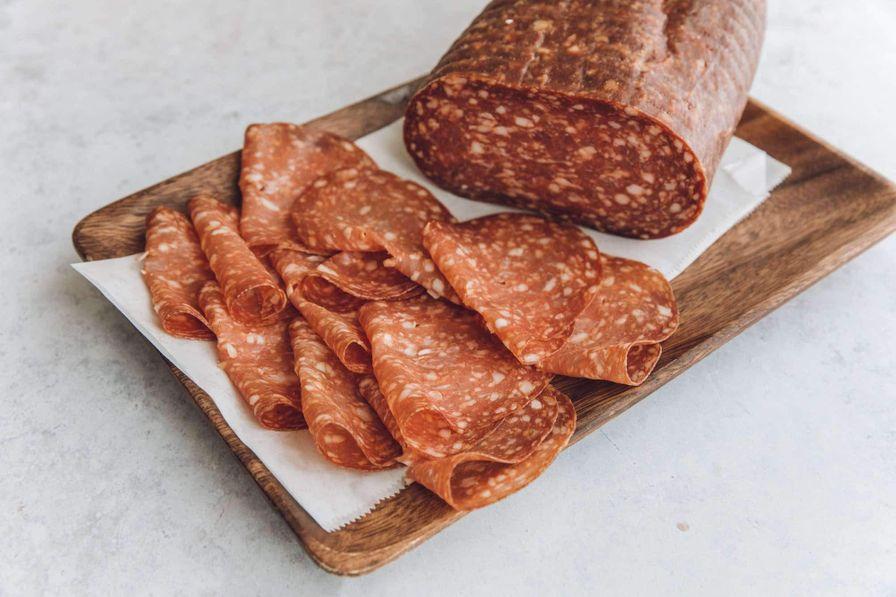 Sliced Large Salami - 4oz Pkg