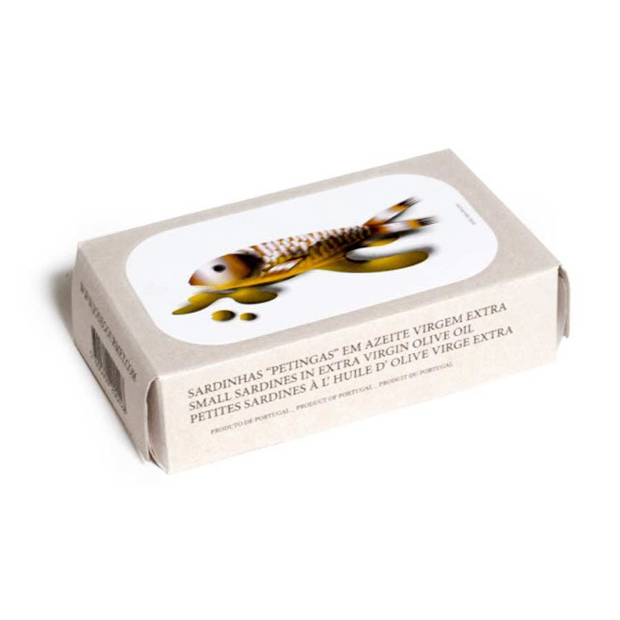 Small Sardines in Extra Virgin Olive Oil