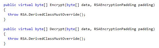 Encrypt and Decrypt methods in .NET C# RSA Class, Image by Dustin Moris Gorski