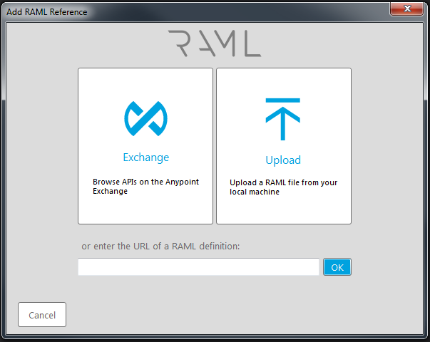 RAML-Demo-Add-RAML-Reference-Dialog, Image by Dustin Moris Gorski