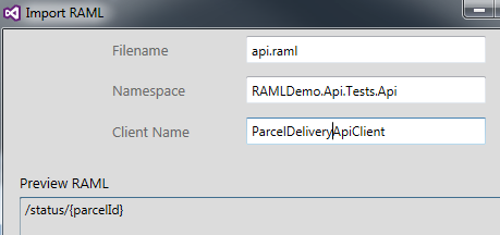 RAML-Demo-Create-Client, Image by Dustin Moris Gorski