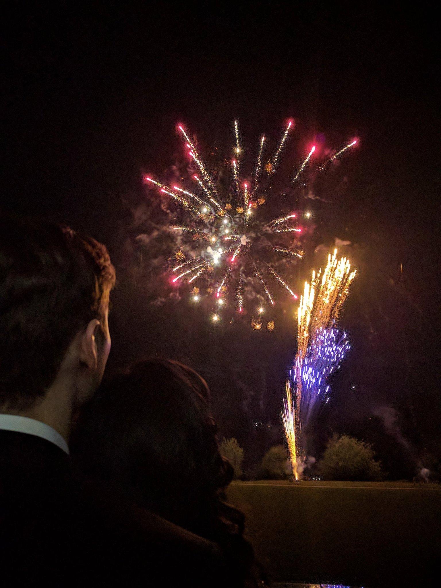 Surprise firework display, Image by Dustin Moris Gorski