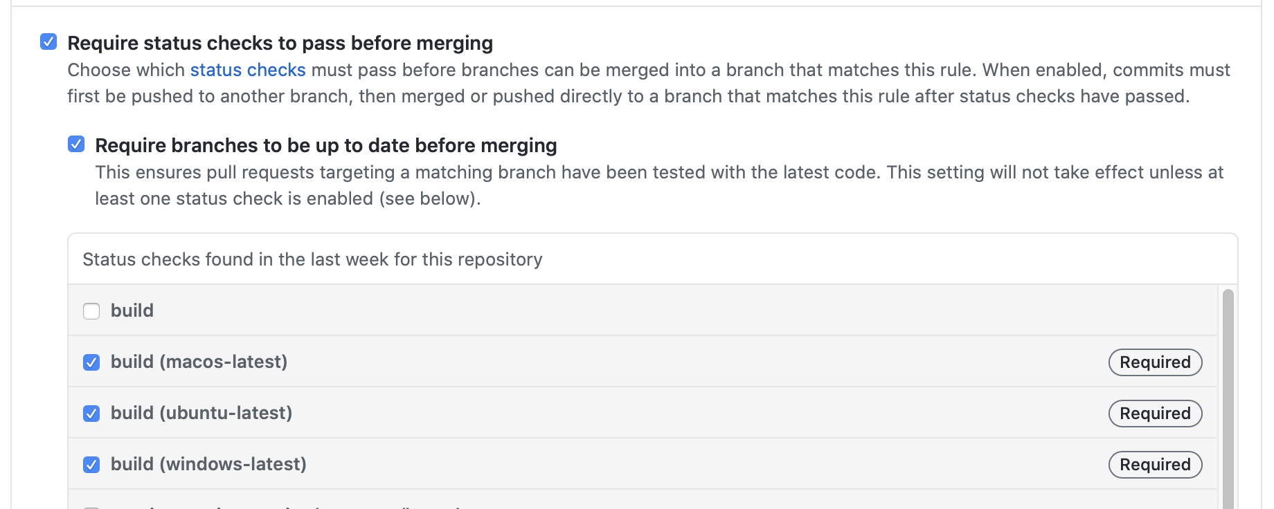 GitHub Branch Protection Rules