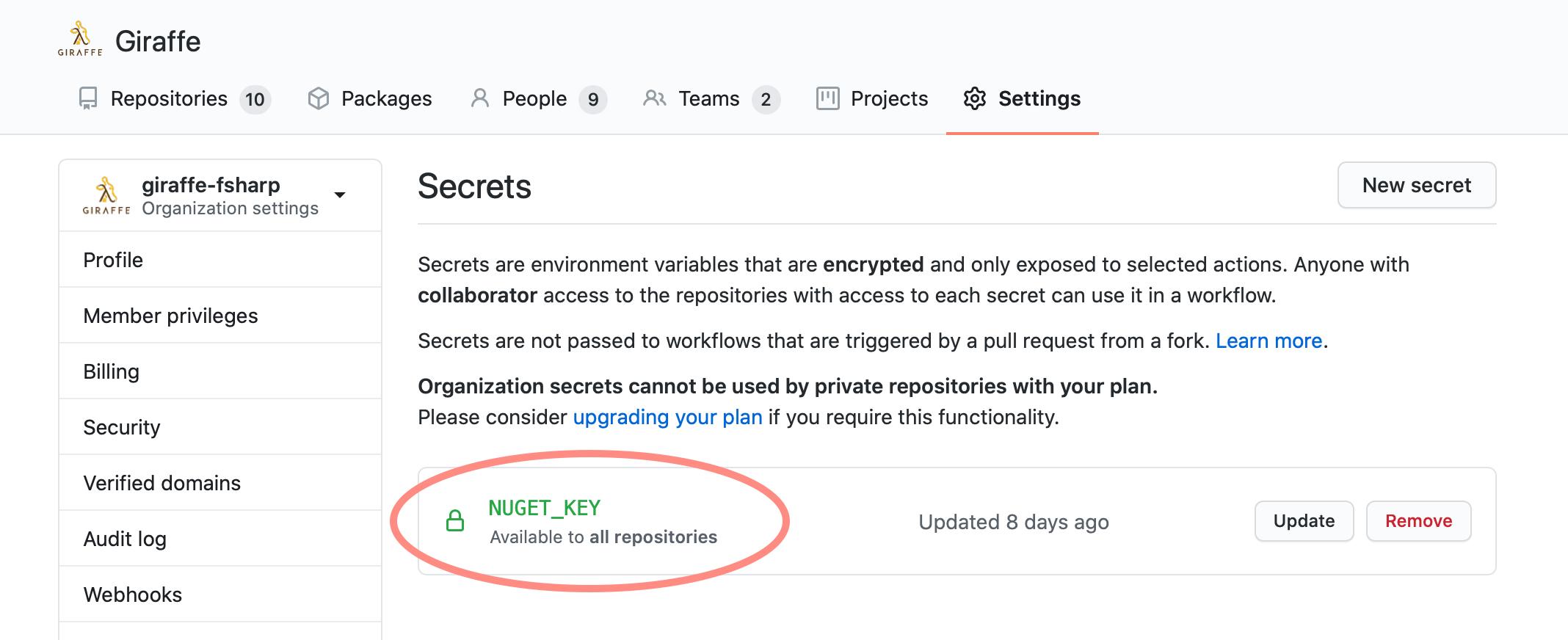GitHub Secrets