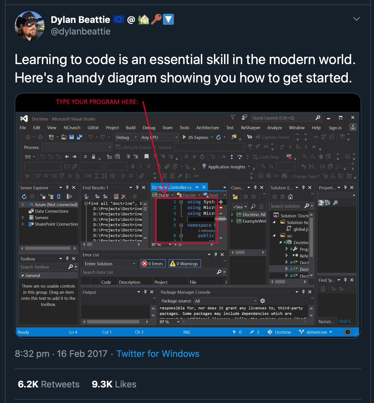 Visual Studio Chaos