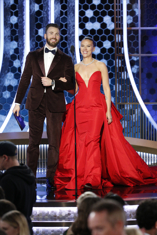 Scarlett Johansson Reveals The Secret Behind Her Chemistry With Chris Evans