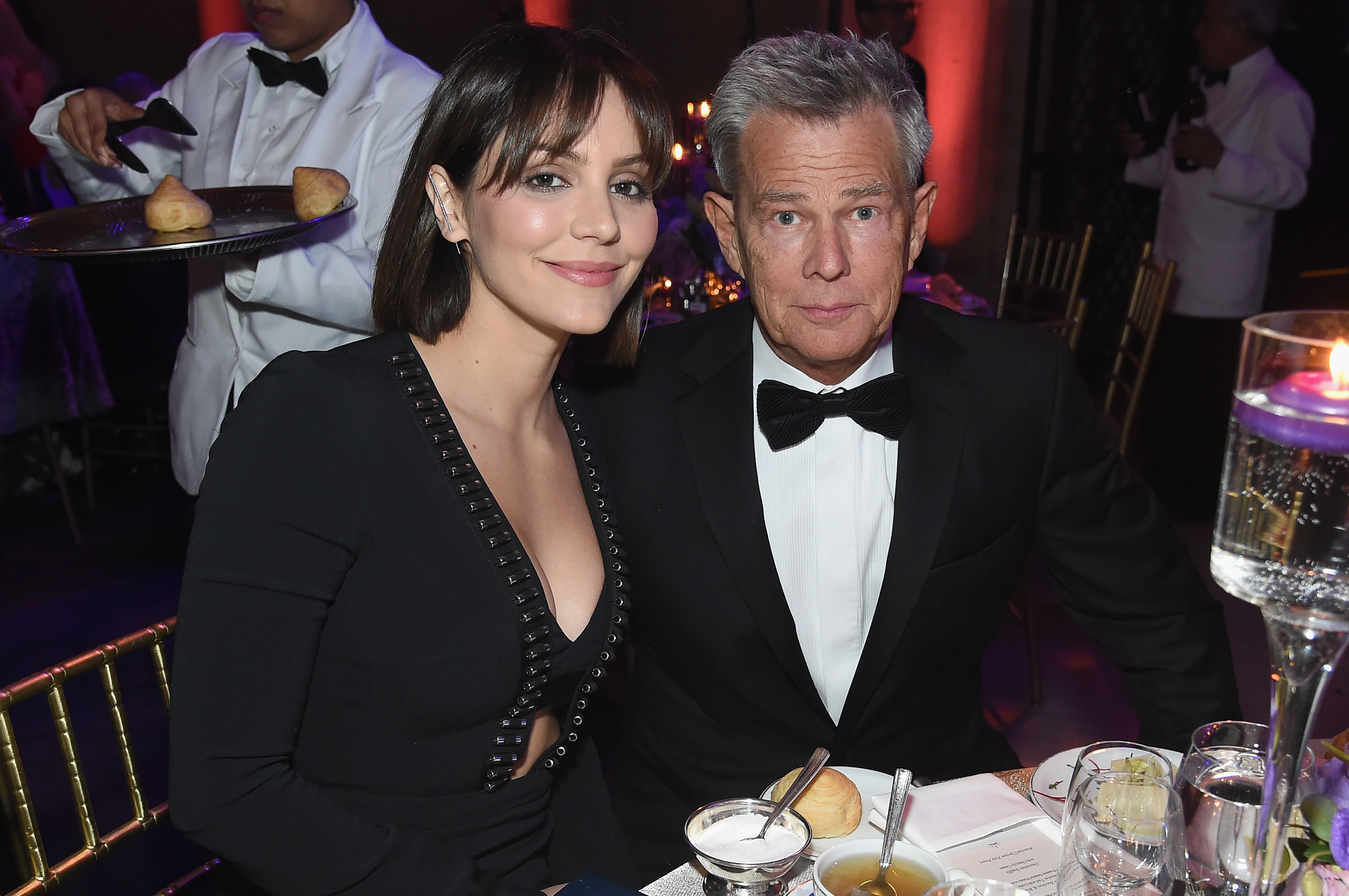 Katharine Mcphee Makes Fun Of Age Difference Between Her And Husband David Foster On Twitter
