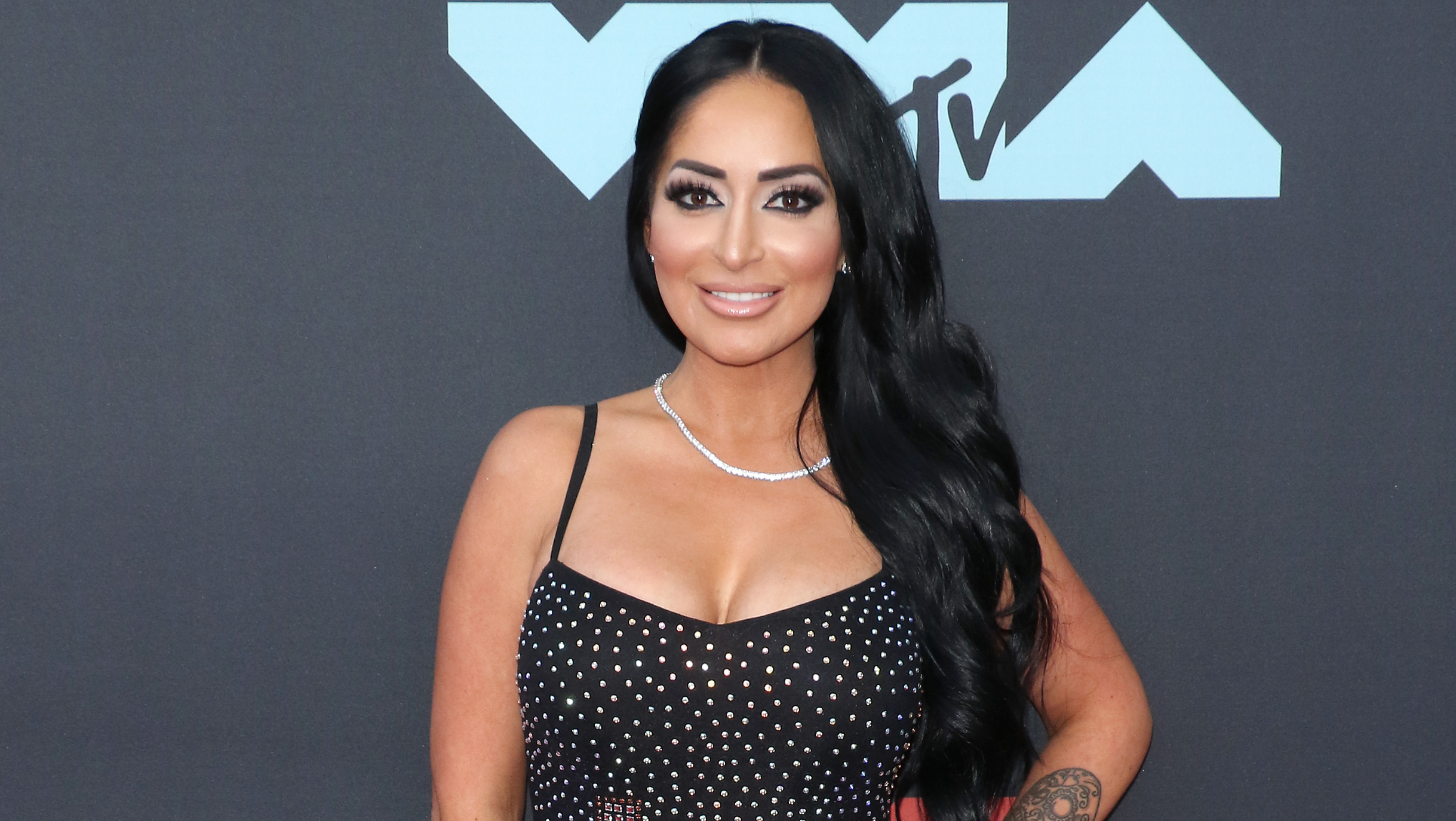 Angelina Jersey Shore Nude jersey shore' star angelina shares touching message to her